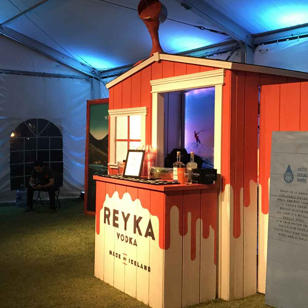 Reyka Vodka Hut
